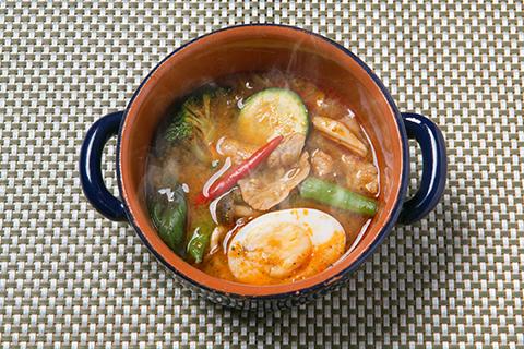 激辛森の薬膳スープカレー